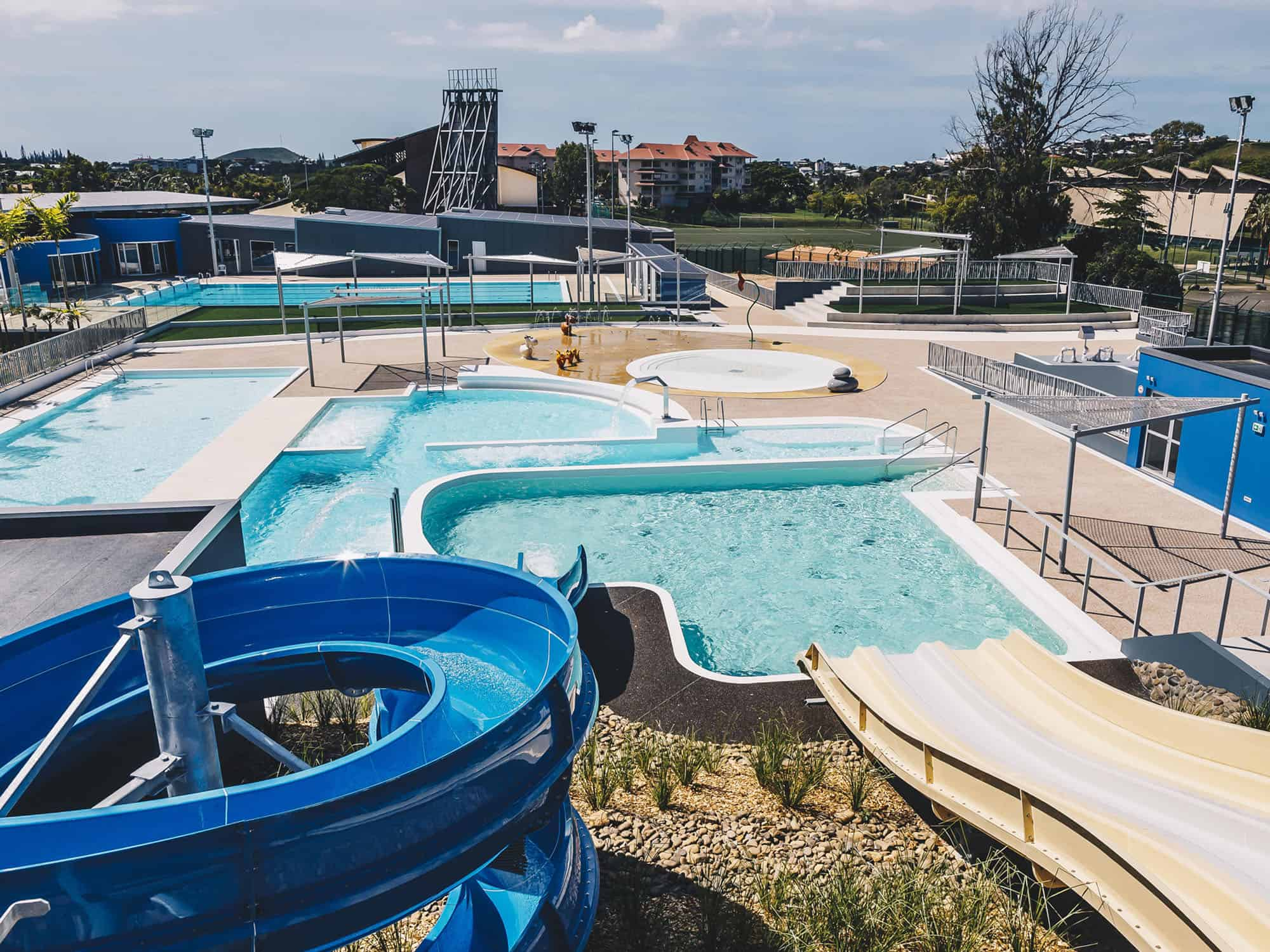 Ouverture du Centre Aquatique de Nouméa