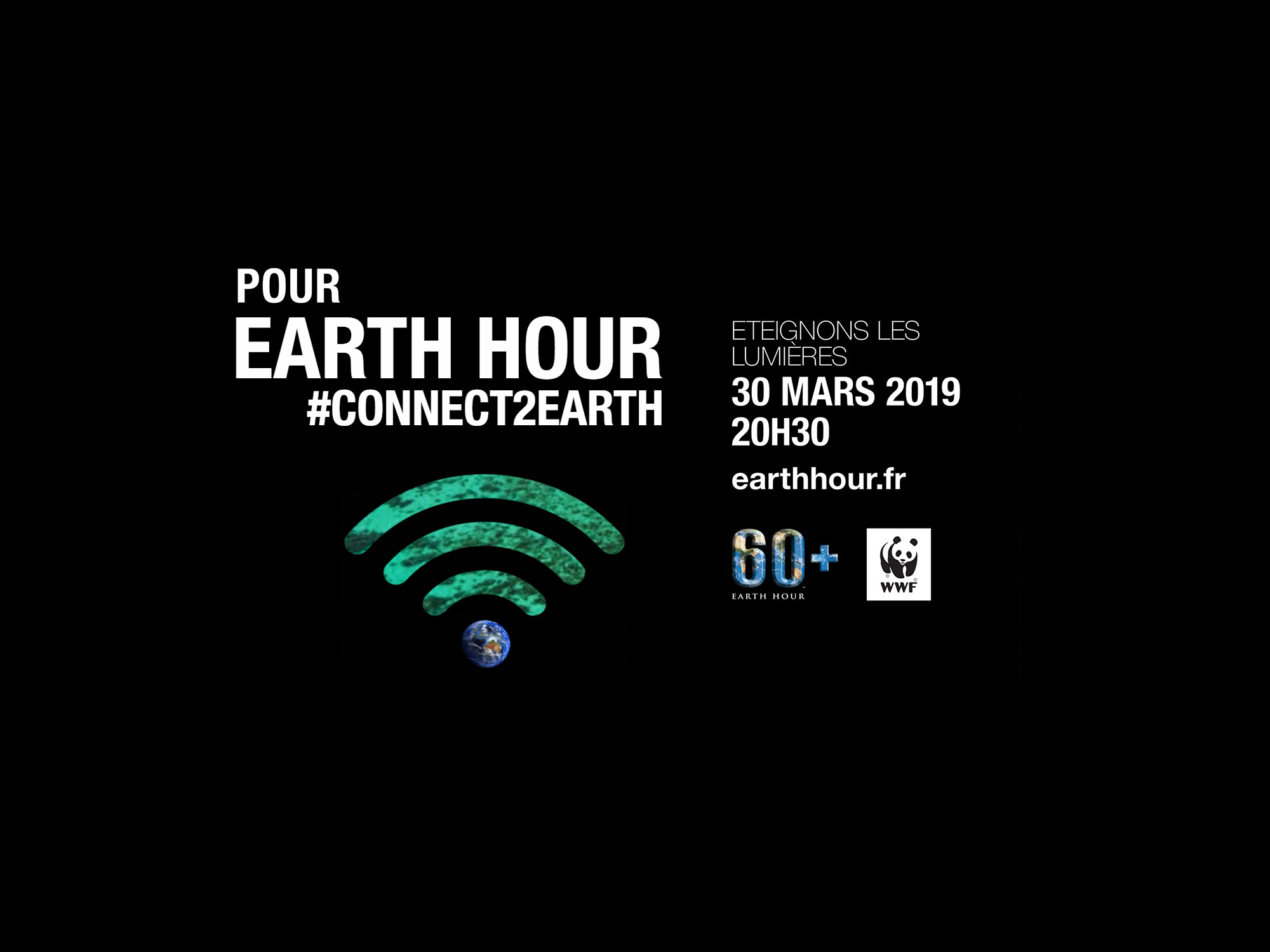 Earth Hour : animations les 29 et 30 mars