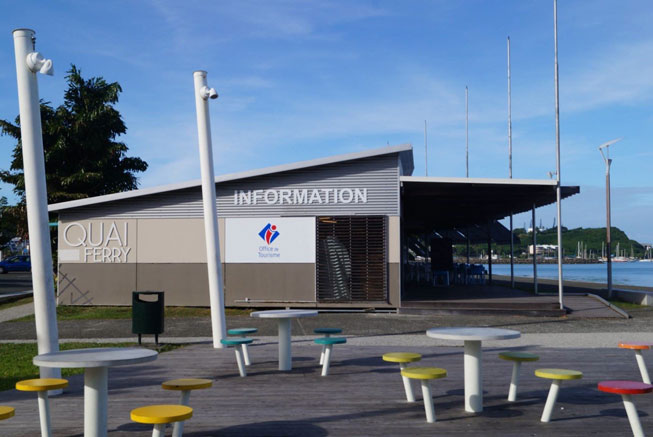 office tourisme noumea quai ferry informations